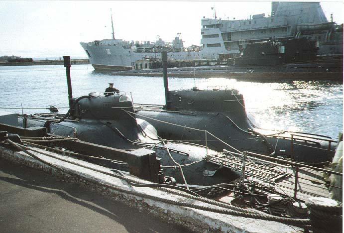 диверсионные подводные лодки россии
