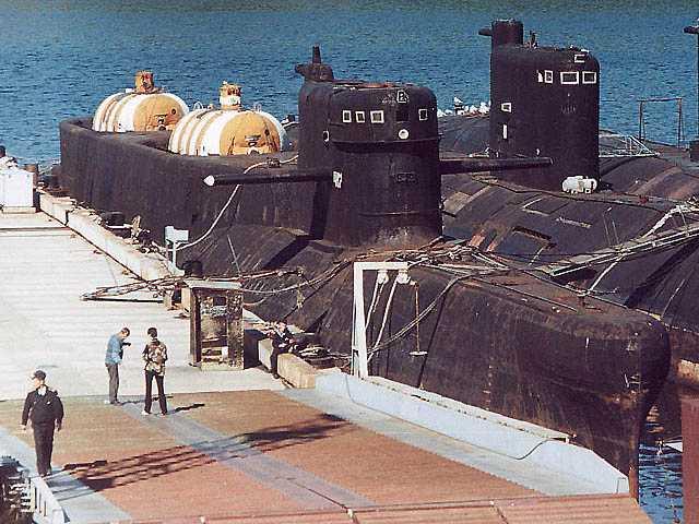отстой подводных лодок